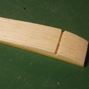 BATを作る -主翼リブの製作-