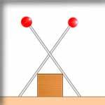 バルサ棒の固定方法